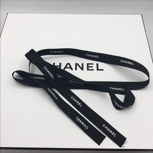 NEW❤️🎀Chanel Black Ribbon:48""